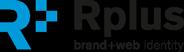 Rplus - brand+web identity